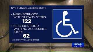 MTA to make subways more wheelchair accessible