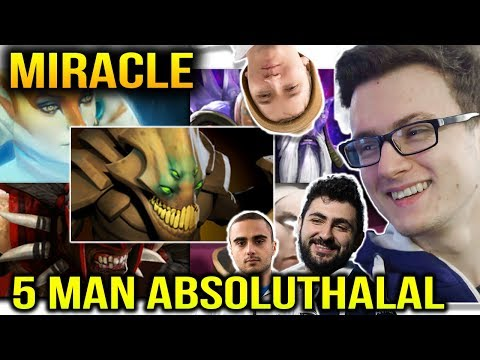 MIRACLE 5 MAN ABSOLUTHALAL With CANCER COMBO Dota 2