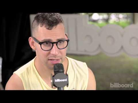 Jack Antonoff Q&A Backstage @ Lollapalooza 2014