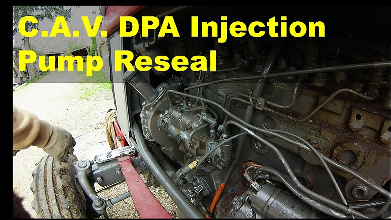 cav dpa injection pump reseal