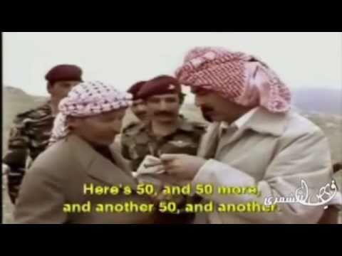 خفة ظل الرئيس صدام حسين