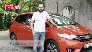 Test Honda Jazz 1.3 CVT