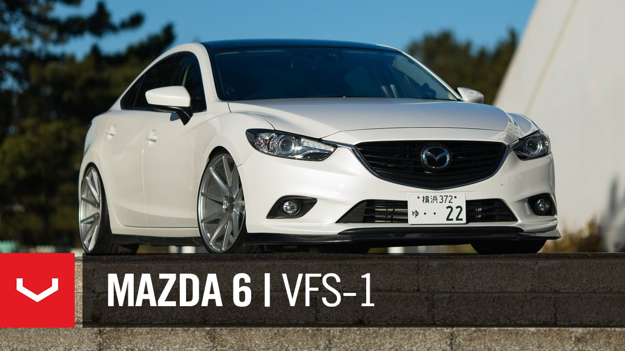 "Mazda 6 ""Atenza""   Mt Fuji   Vossen 20"" VFS1 (4K) - YouTube"