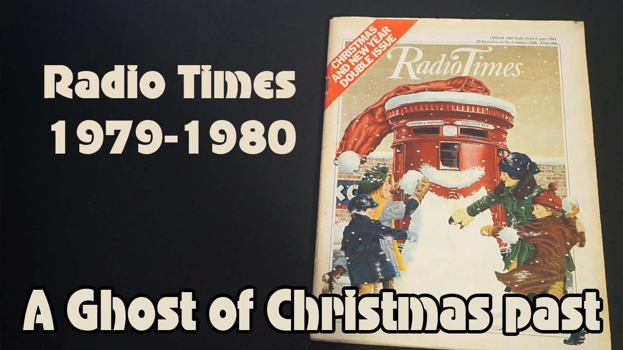 Radio Times Christmas 1980 Christmas Radio Times From