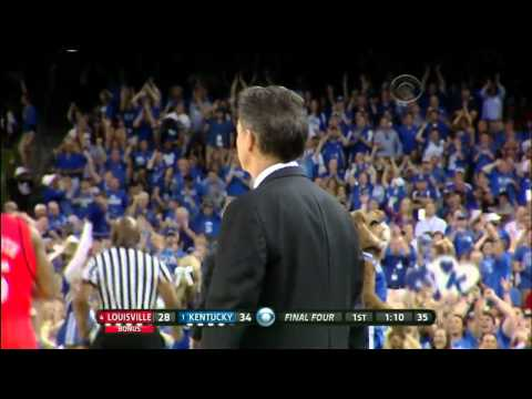 #1 Kentucky vs #4 Louisville Ncaa Tournament Final Four 2012 (Full Game)