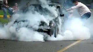BMW E30 TURBO DRİFT-BURNOUT
