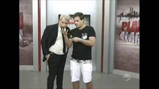 Vesgo do PNICO NA BAND com Siqueira Jr no Planto A