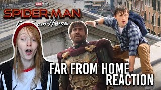 SPIDER-MAN FAR FROM HOME REACTION and Discussion