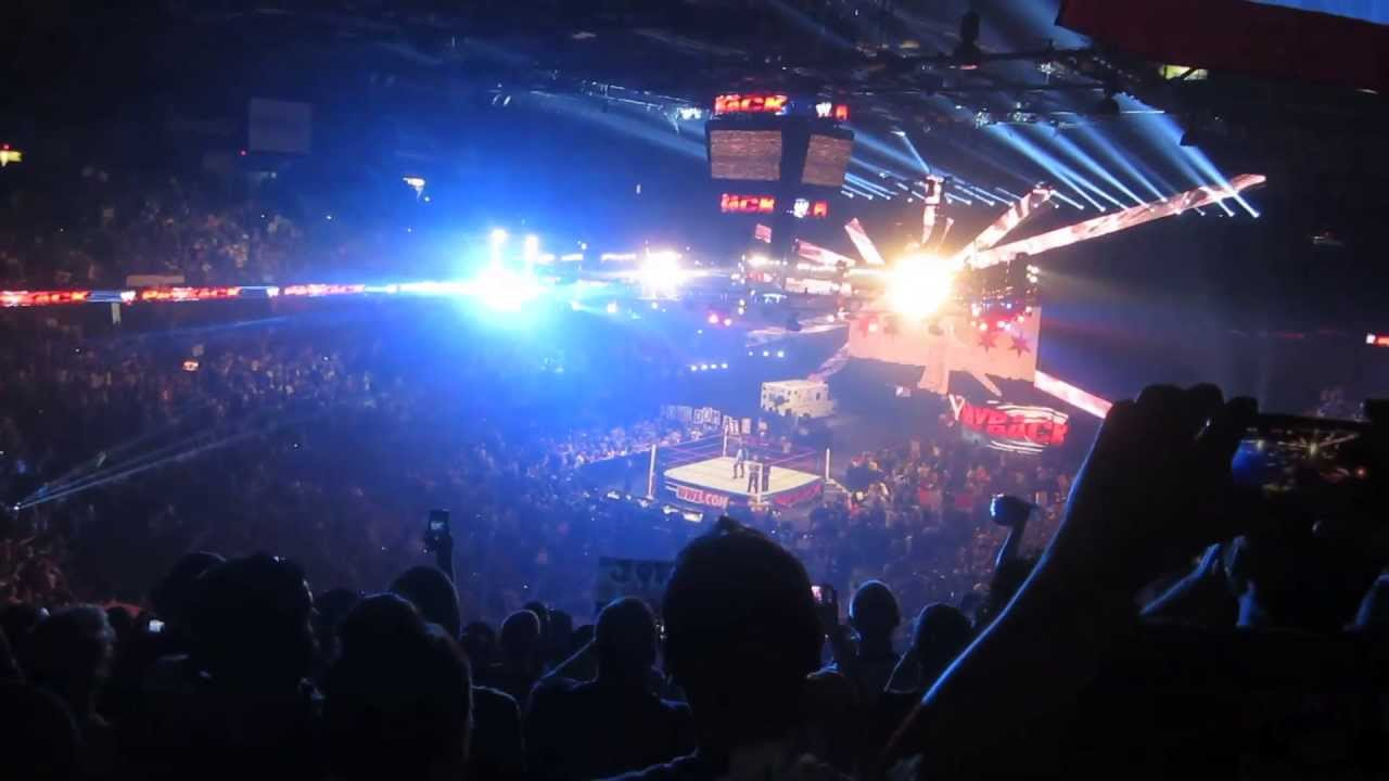 Sights and Sounds: WWE Payback at the Allstate Arena 2013 ...