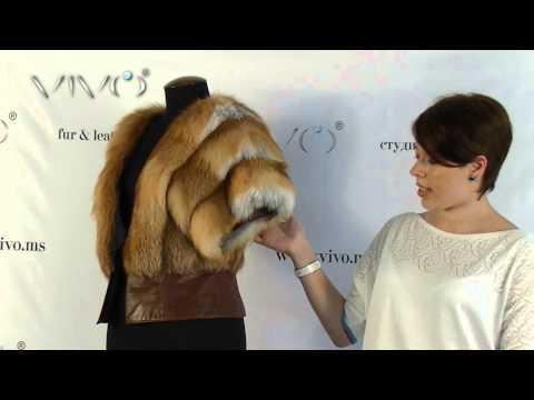 Сшить жилет из меха лисы