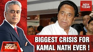Madhya Pradesh Government On Edge : CM Kamal Nath Chairs Emergency Meeting | News Today With Rajdeep