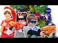 #Челлендж 🎁 игрушки для мальчиков: Нерф против трансформеров! Маша #КапукиКануки и #Игробой Адриан