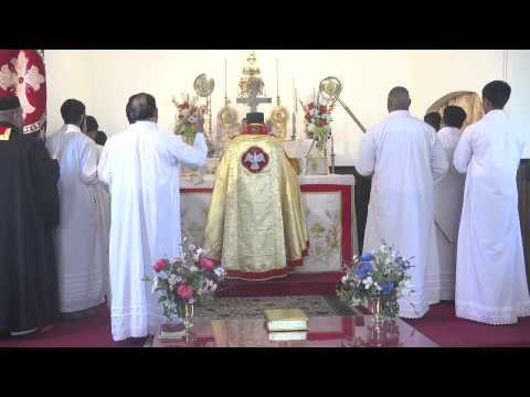 Malankara Orthodox Holy Qurbana By Rev. Fr. Alex K. Joy video