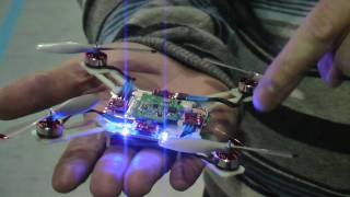Nano quadcopter wii