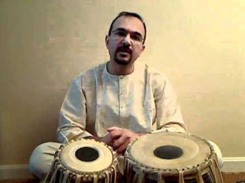 Tabla Lesson - Dadra Taal.wmv video