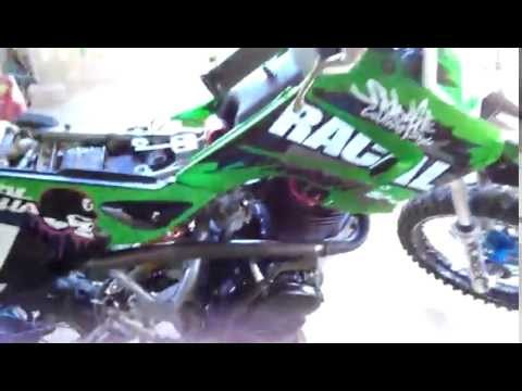 BAGSIK ULTIMATE BOOSTER B1 on RACAL MCGY125