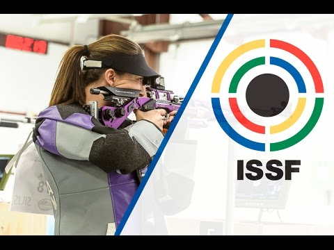 Finals 10m Air Rifle Women - 2015 ISSF Rifle and Pistol World Cup in Fort Benning (USA)