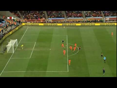 World Cup 2010 Final | No offside Iniesta | Netherlands - Spain