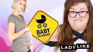 We Wore Pregnancy Bellies • Ladylike