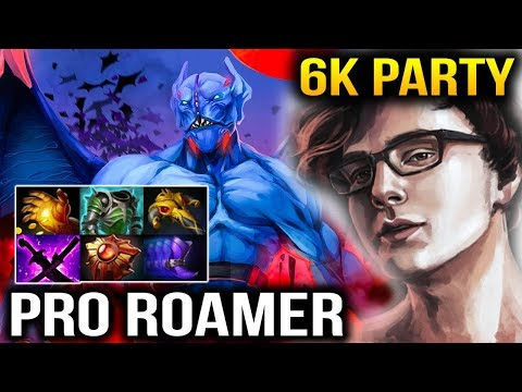 Miracle- [Night Stalker] Good Start with 6k Party Average Game Dota 2
