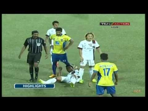 Hero I-League 2015 Mumbai FC (1) vs McDowell Mohun Bagan (1) 2-5-2015