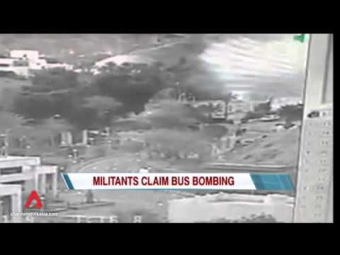 Jihadist group claims bombing of tourist bus in Egypt