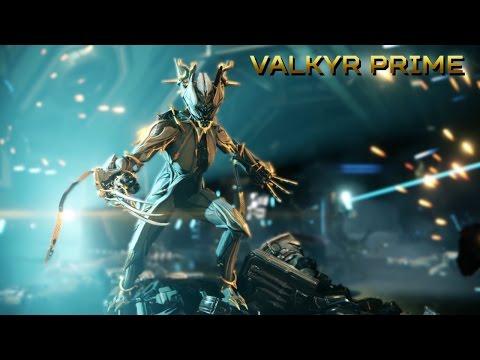 Warframe ITA ~ Arkel ~ Valkyr Prime + Pro Builds ( 1 Forma ) ~ La Warframe isterica.