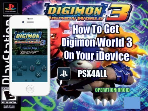 PSX4ALL: How To Get Digimon World 3  iPhone.iPad or iPod Touch