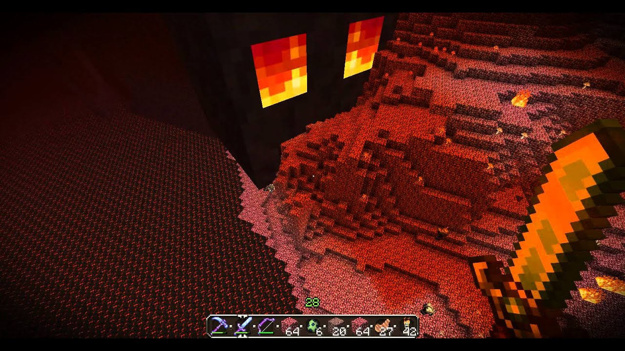 A Giant Magma Cube In The Nether A Glitch Maybe Read