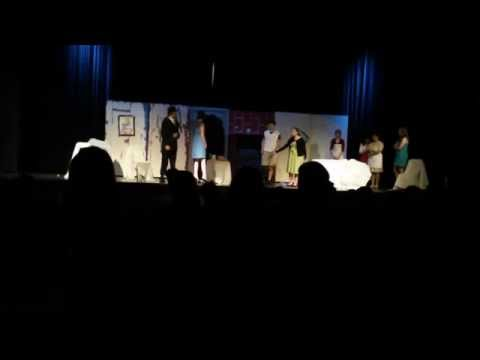 """Alma Bryant High School Play """"The Ghost Wore White"""" 2013-2014 Drama 1 Students"""