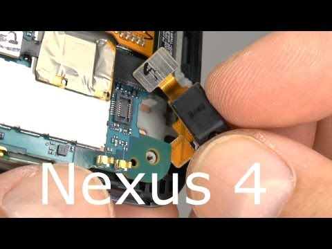 Nexus 4 Teardown - Disassembly & Assembly - Screen & Case Replacement - Drop Test Repair