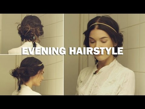 Evening Hairstyle (with subs) - Linda Hallberg Makeup Tutorials