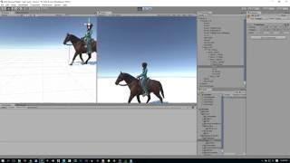 Step by Step Horse Animset Pro Tutorial Diferent Mesh Unity