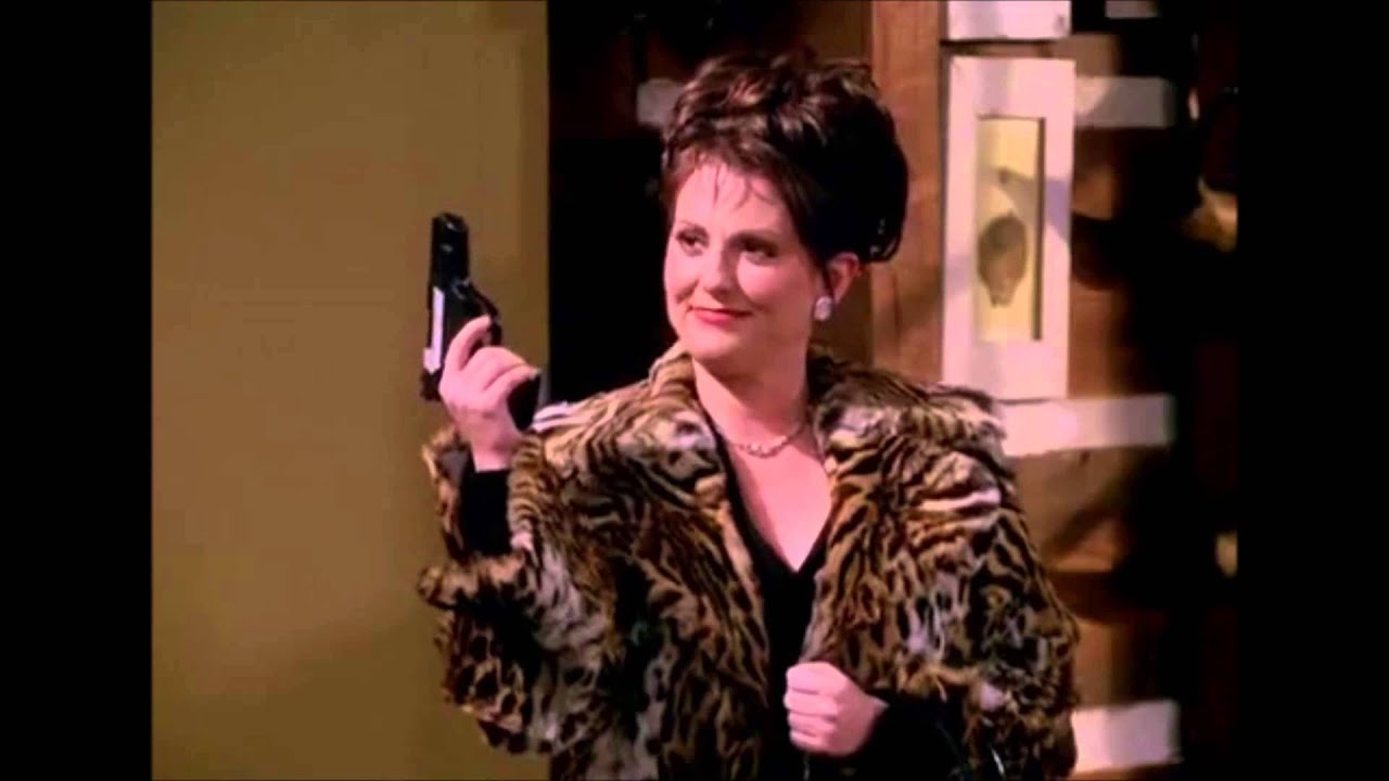 Karen Walker Wallpaper Karen Walker Wrestling up Some