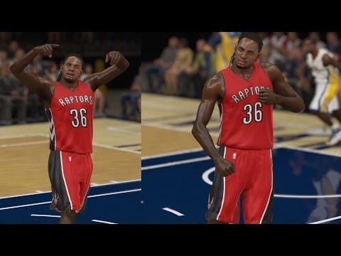 NBA 2K15 PS4 My CUHreer - Celebration Chase Down!