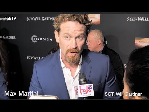 Max Martini Attends The SGT. Will Gardner Premiere At ArcLight Hollywood