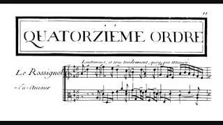 F. Couperin - Le rossignol en amour - Friedrich Gulda