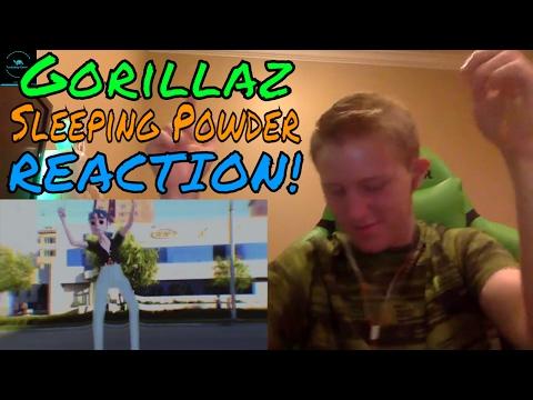 Cover Lagu Gorillaz - Sleeping Powder REACTION!