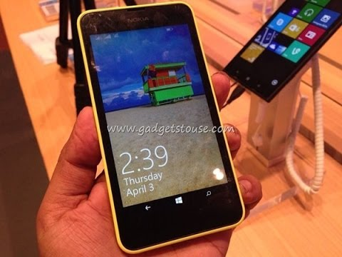 Nokia Lumia 630 Hands on Review. Features. Dual Sim Options and Windows 8.1 Overview HD