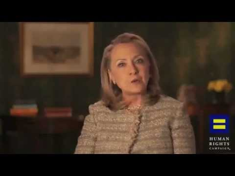 Hillary Clinton Endorses Gay Marriage: 'Personally and as a Matter of Policy and Law'