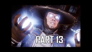 MORTAL KOMBAT 11 Walkthrough Part 13 - Raiden's Fury (MK11 Story Let's Play Commentary)