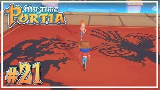 Martial Arts Tournament Day 1 #21 - My Time at Portia (Alpha 9.0) - Let's Play