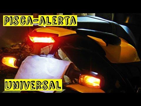 Pisca Alerta Universal Cb 300 Tutorial Completo