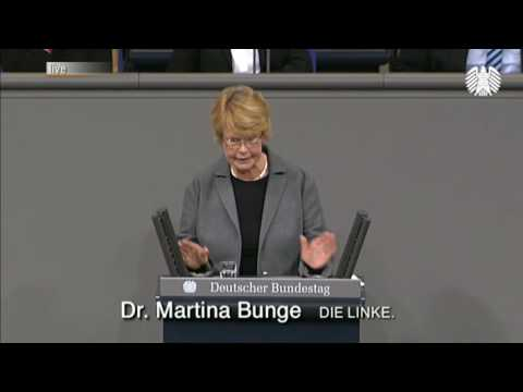 Martina Bunge, DIE LINKE: Paradigmenwechsel Im Gesundheitssystem Nötig