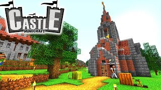 Kirche! Priester! TIMELAPSE! - Minecraft CASTLE #05 - Ancient Warfare 2 Mod
