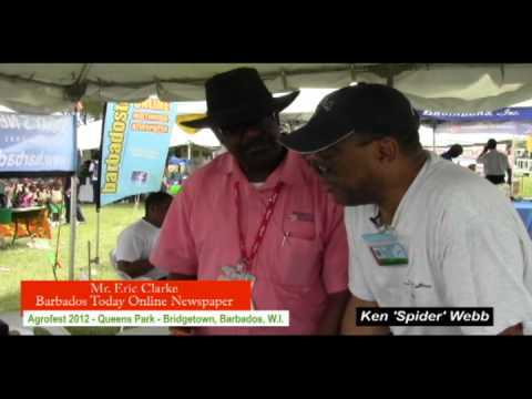 Agrofest 2012 Barbados-WIR/SMAC: Mr. Eric Clarke - 'Barbados Today'