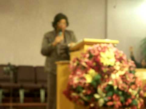 The Triumph of Faith (Pt. 1) - DIstrict Elder Dr. Eulah M. Nelson Video