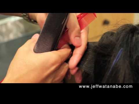 Japanese Hair Straightening Demo by Jeff of REF Salon Beverly Hills