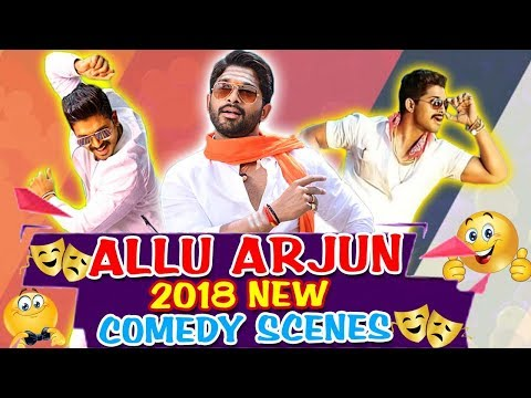 Allu Arjun 2018 New Best Comedy Scenes | South Indian Hindi Dubbed Best Comedy Scenes
