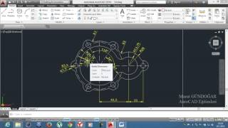 18-) UYGULAMA 8 (Makine) / AutoCAD Education /